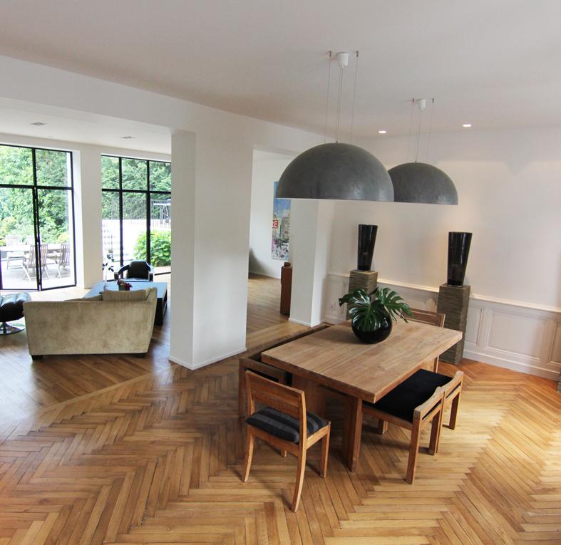 Modernisation d'une maison de Maître