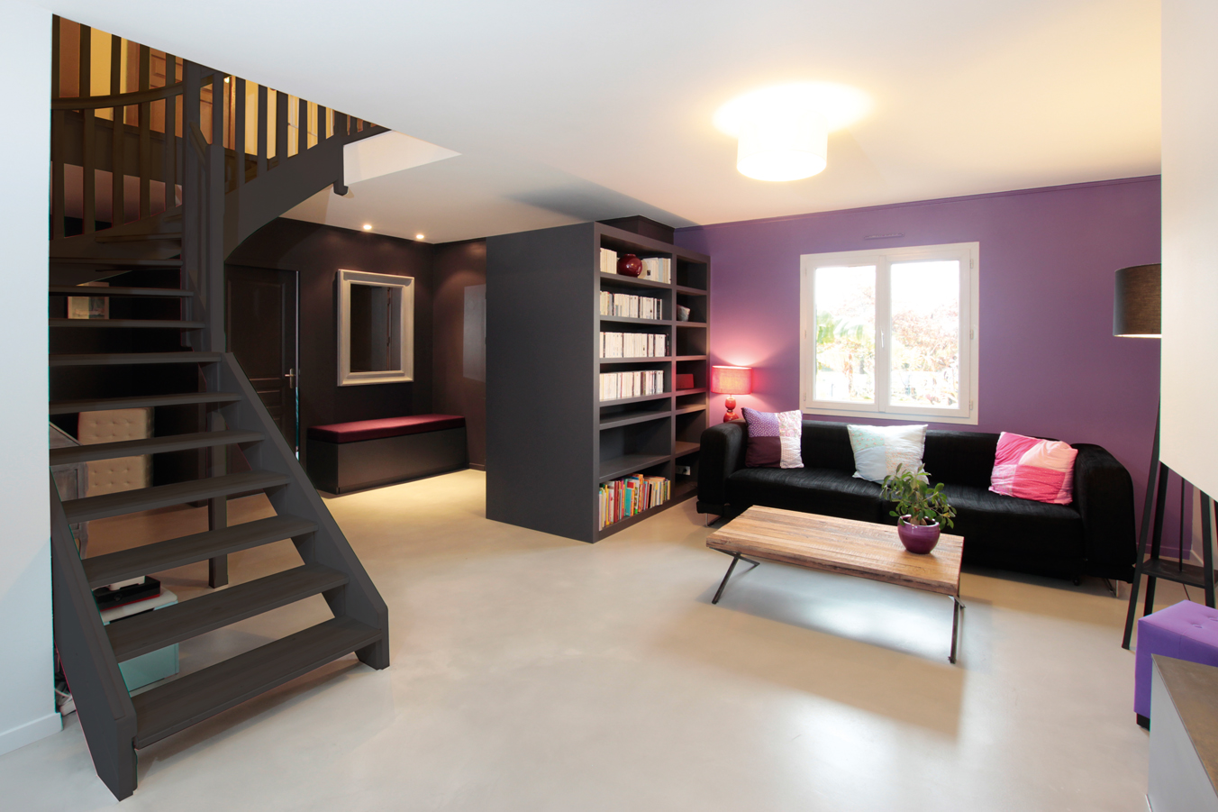 R novation en architecture d 39 int rieur sur nantes et for Decoration d un salon maison