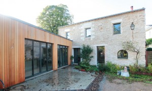 Extension maison architecture d'intérieur et maîtrise d'oeuvre