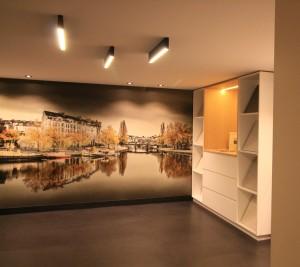 Rénovation complète d'un commerce Place Aristide Briand à Nantes