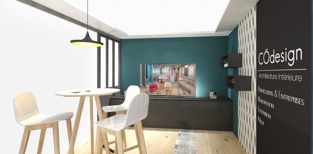 Architecture d'intérieure CÖdesign Nantes Angers - Salon Habitat Angers septembre 2017 - Stand