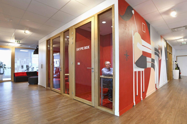 De nouveaux bureaux pour dta ingéniérie signés par cÖdesign