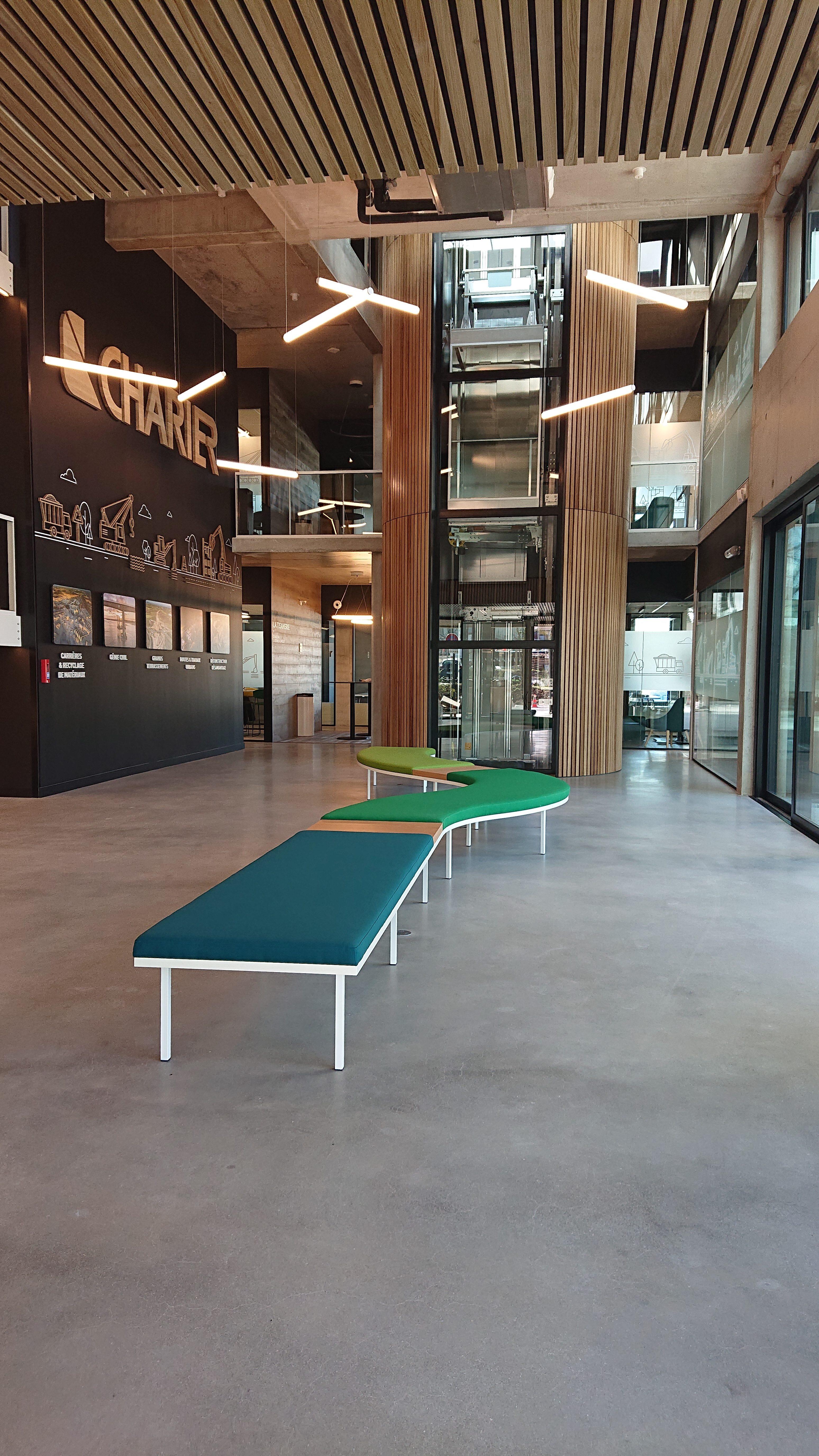 Construction du nouveau siège social Charier